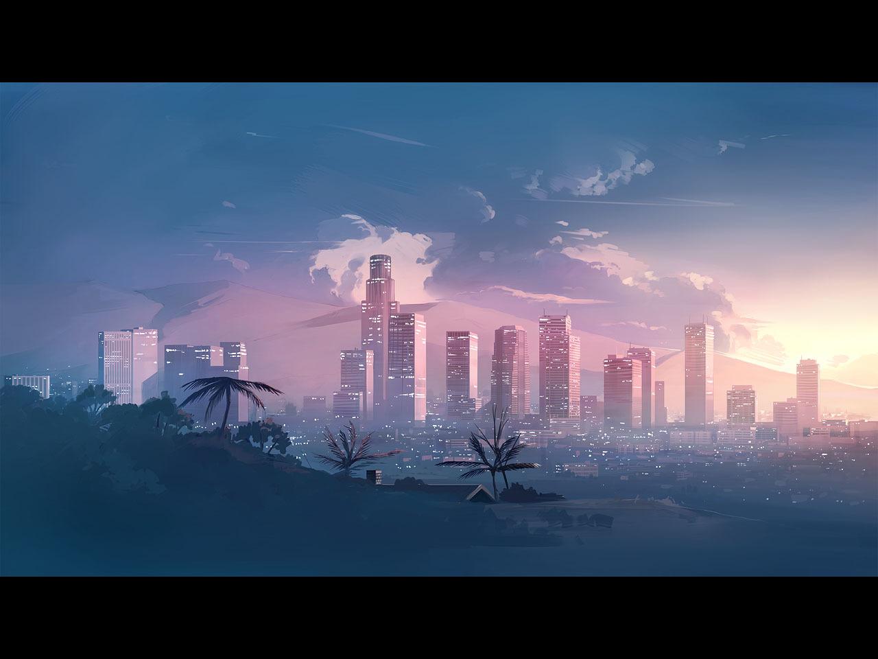 P站画师作品太阳之城