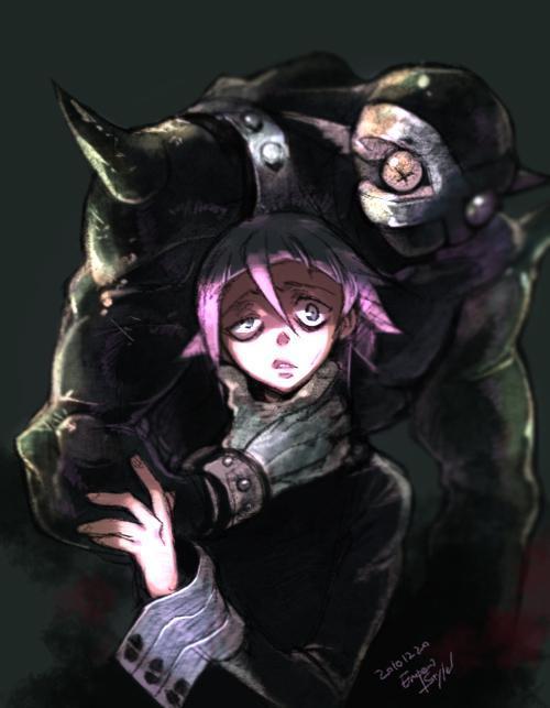 P站画师作品Soul Eater Chrona+Ragnarok