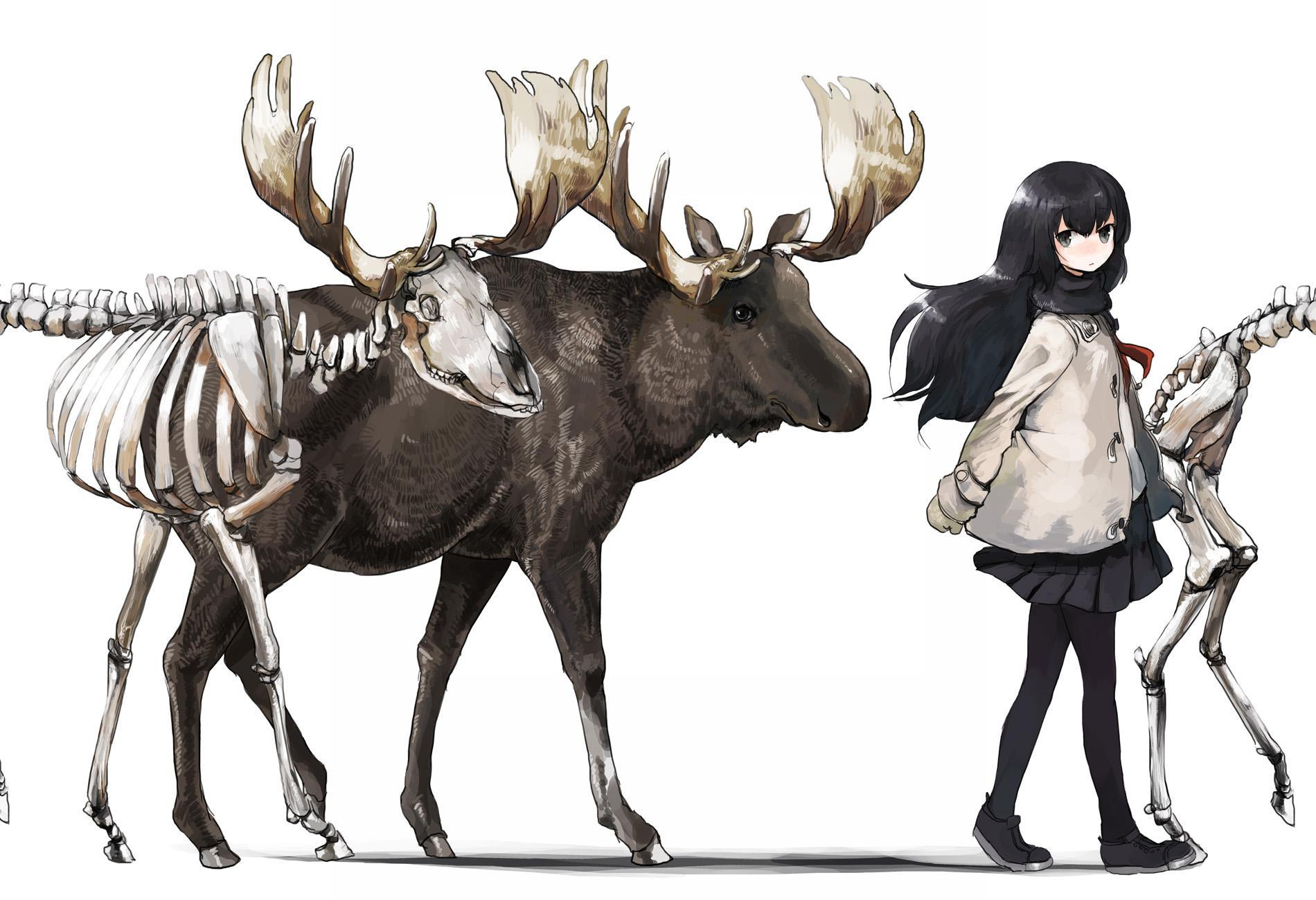 P站画师作品肉和骨头