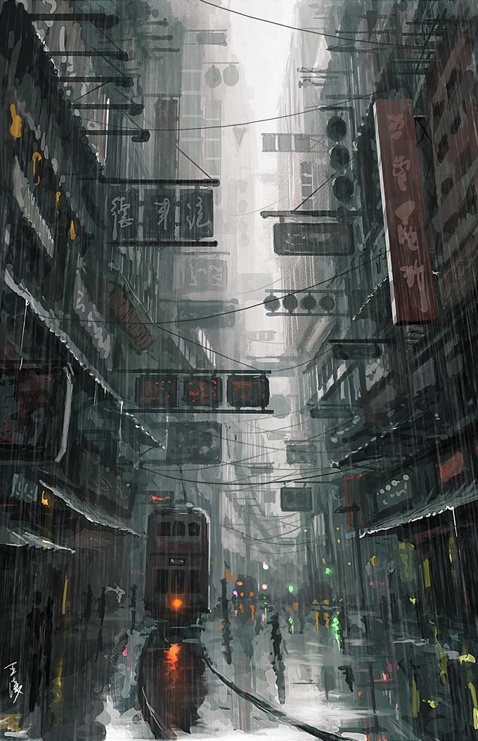 P站画师作品Hong Kong