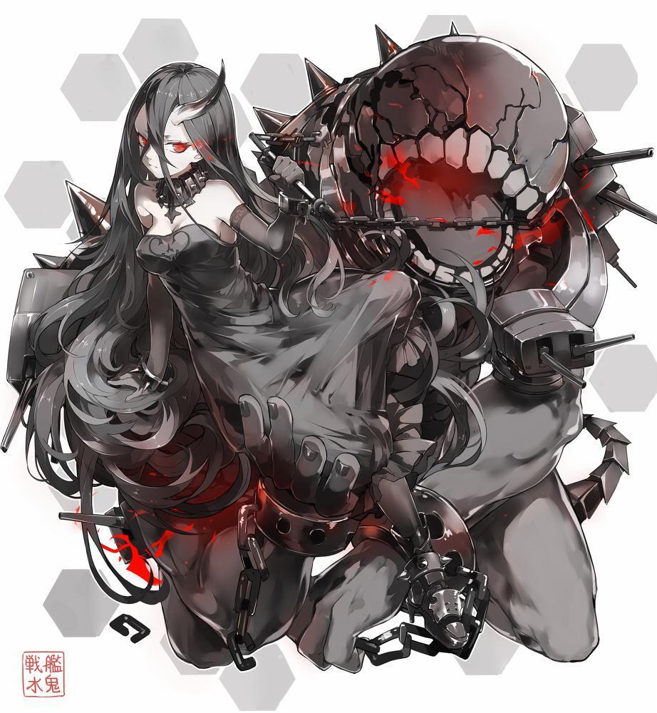 P站画师作品水鬼号战列舰