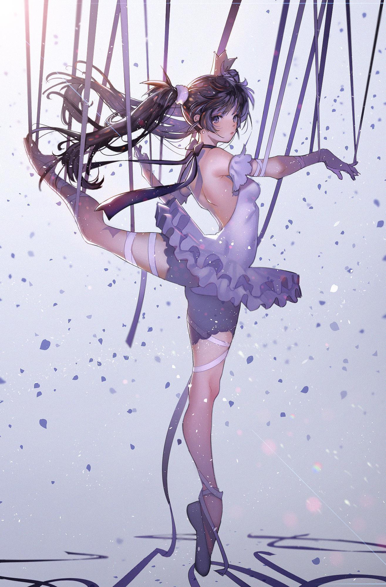 P站画师作品ballerina