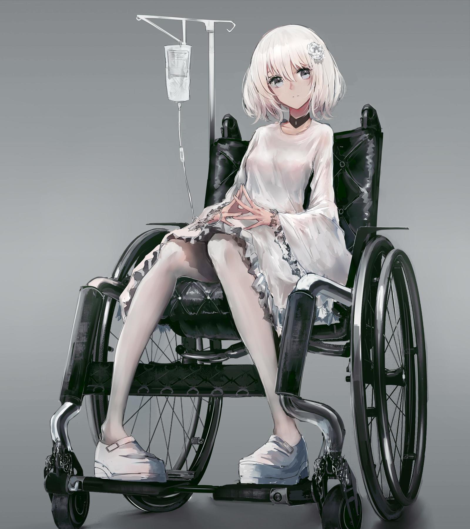 P站画师作品轮椅