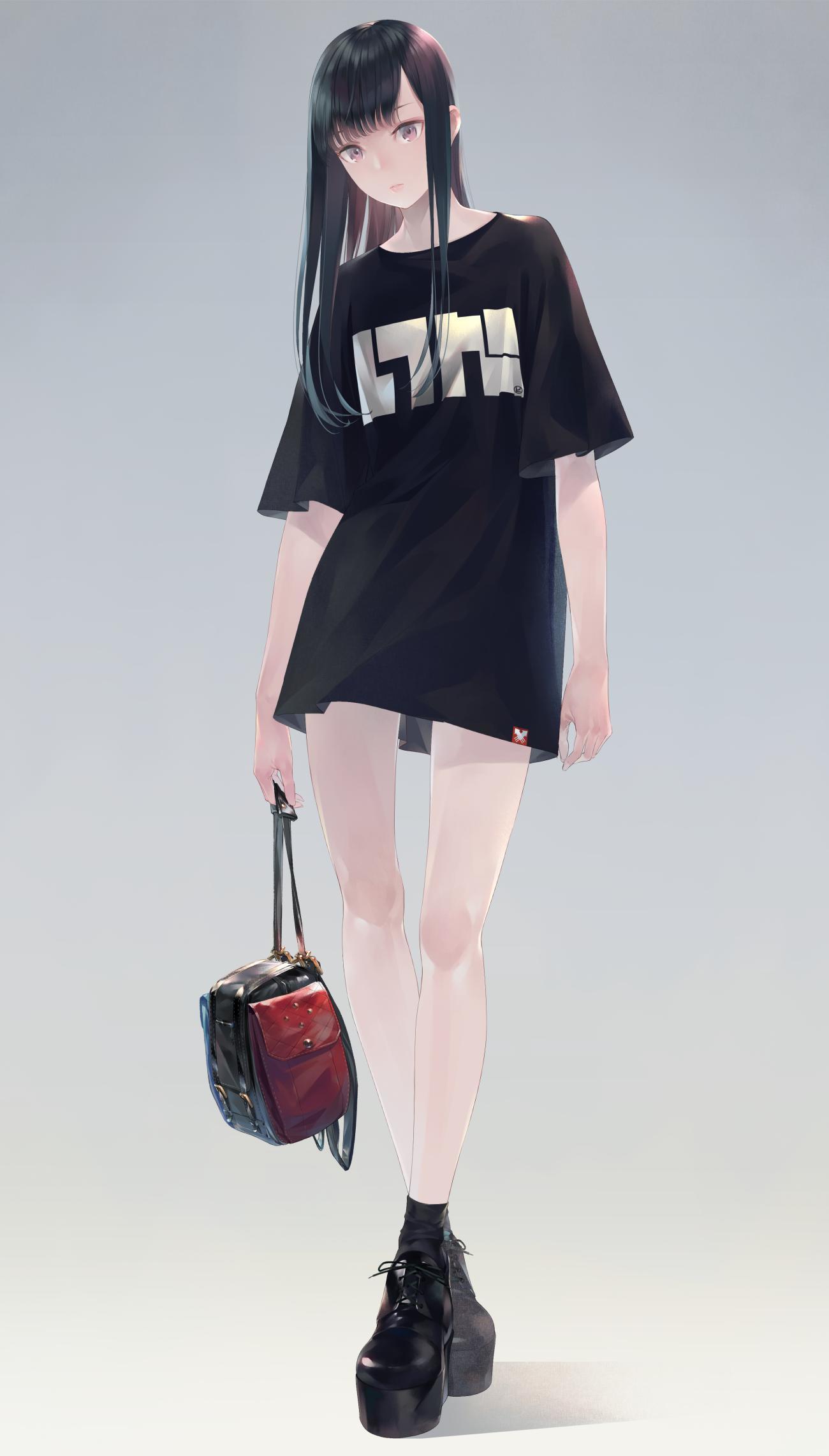P站画师作品T和Switch帆布背包