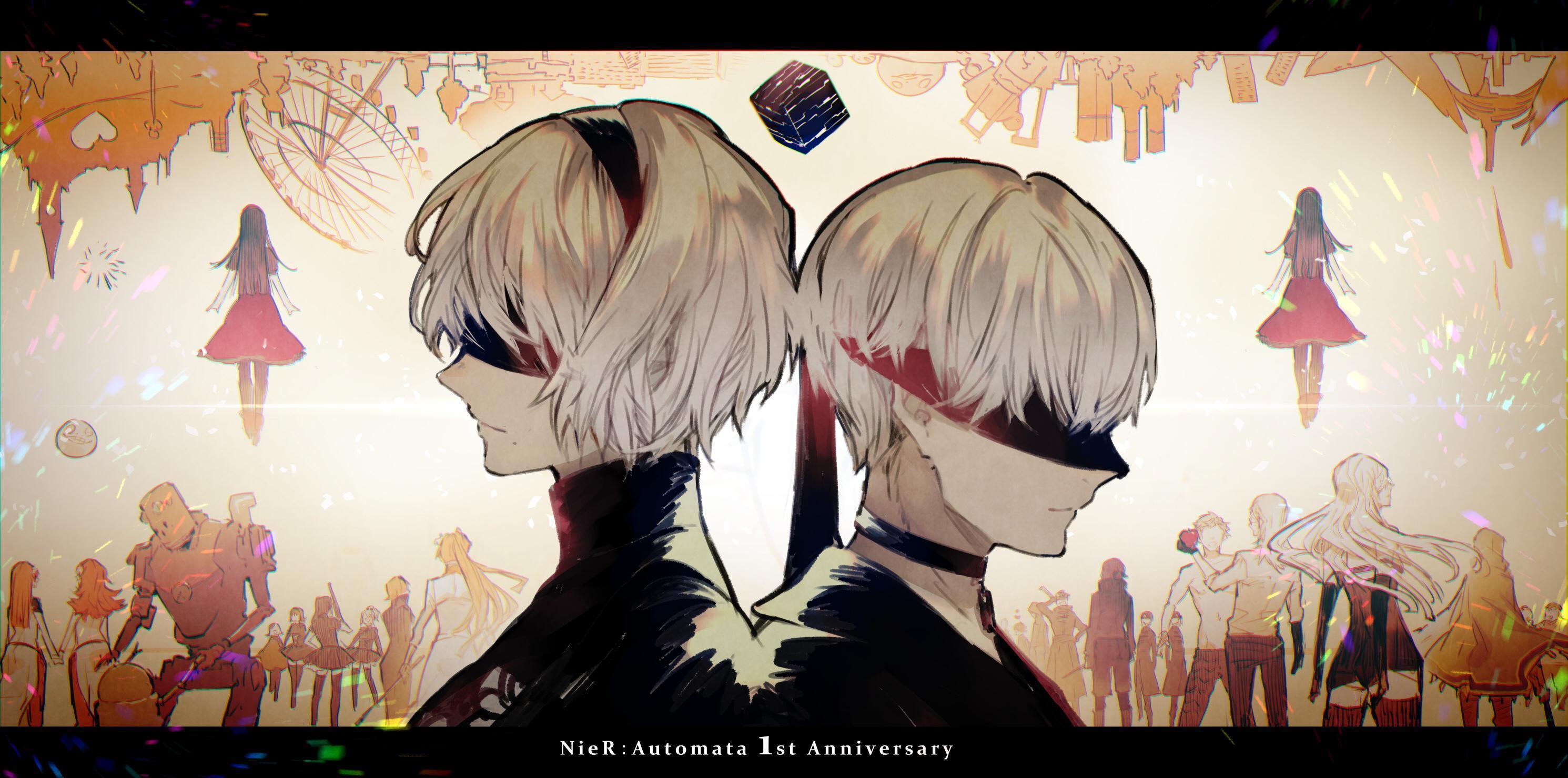 P站画师作品1st Anniversary