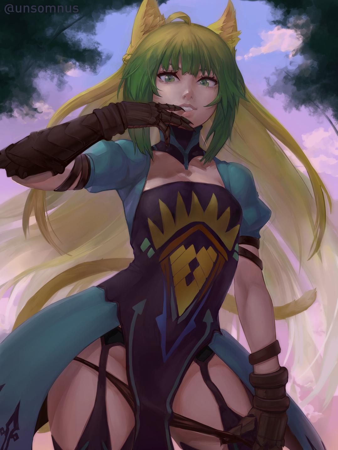 P站画师作品Fate - Atalanta