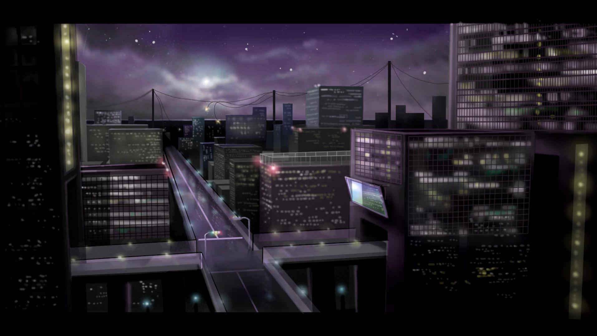 P站画师作品Night city