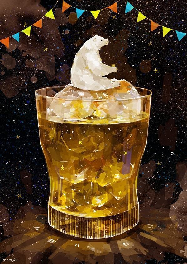 P站画师作品你喜欢威士忌吧?