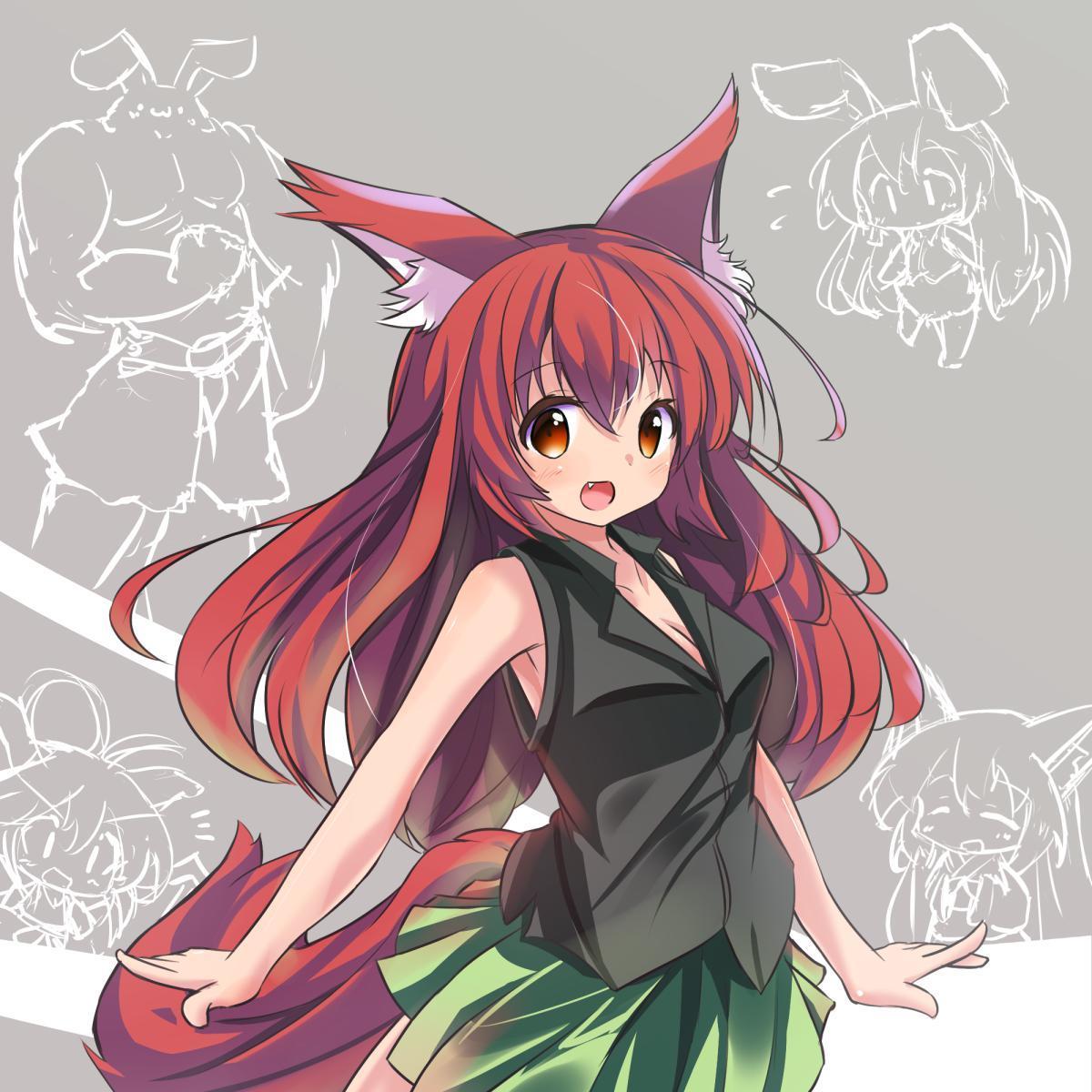 P站画师作品赤狐(不是图标担当的孩子)