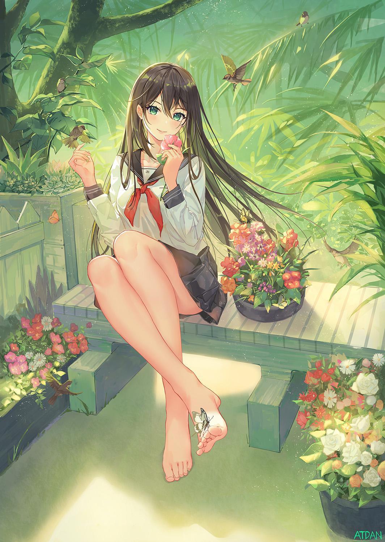 P站画师作品Garden