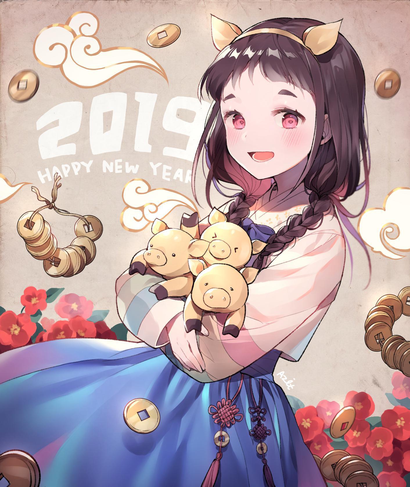 P站画师作品Happy New Year !