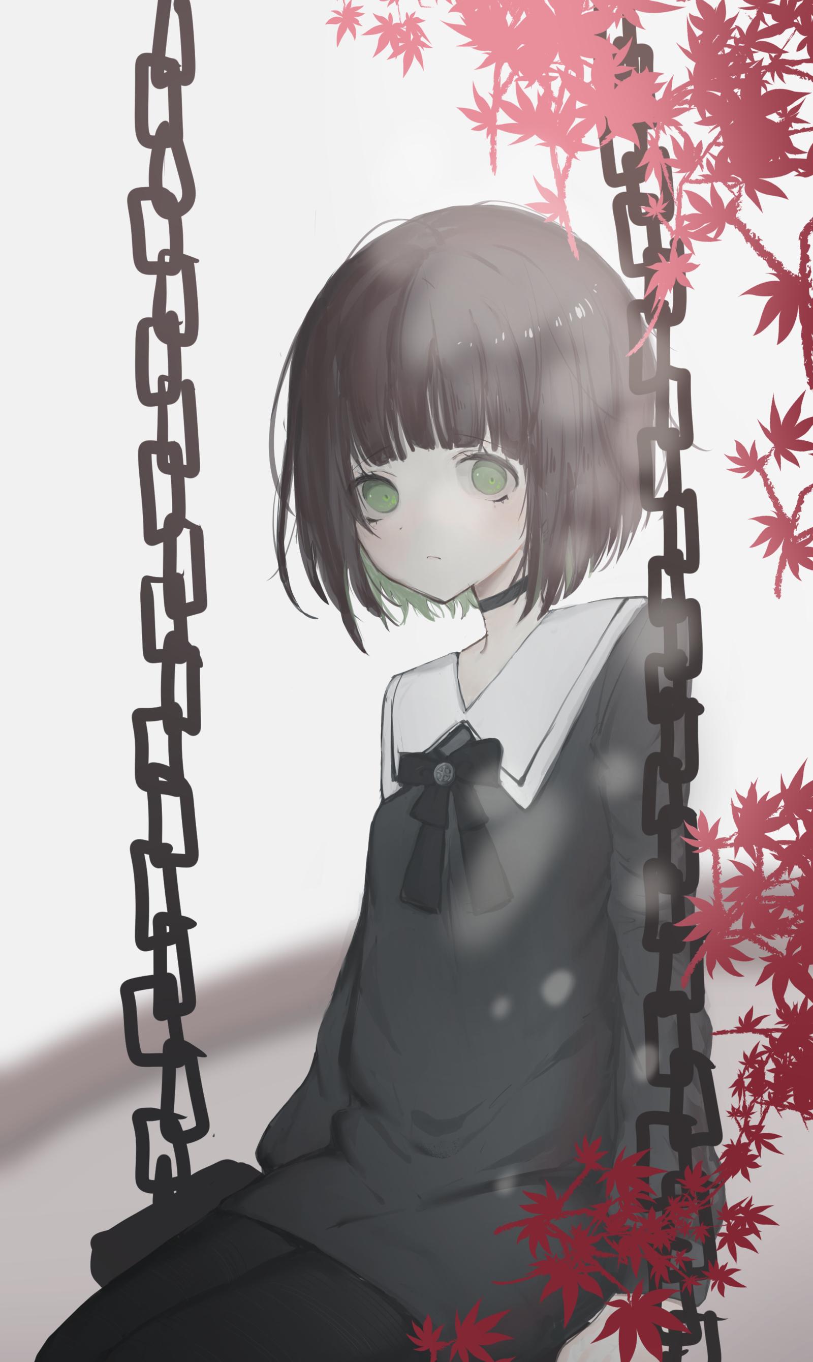 P站画师作品Fall